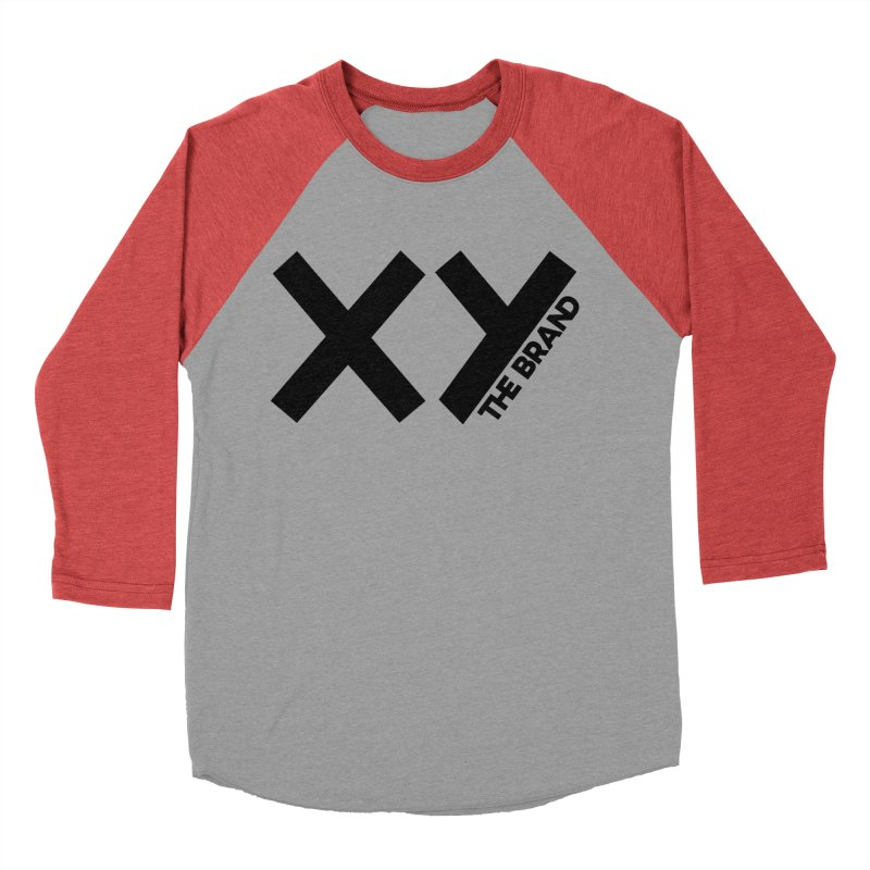 XY The Brand Men's Baseball Triblend Longsleeve T-Shirt by XY The Brand