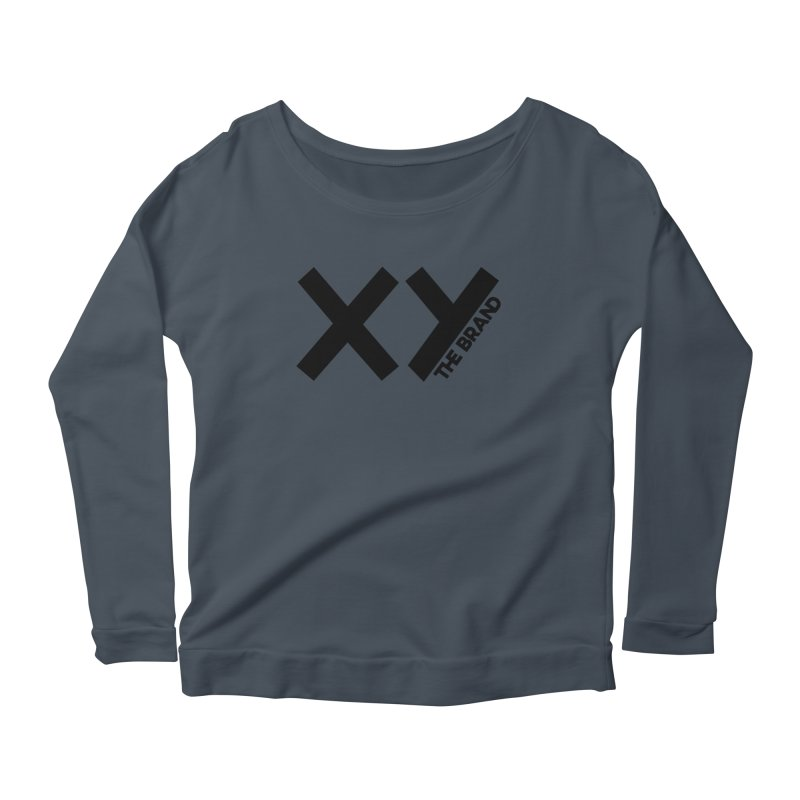 XY The Brand Women's Scoop Neck Longsleeve T-Shirt by XY The Brand