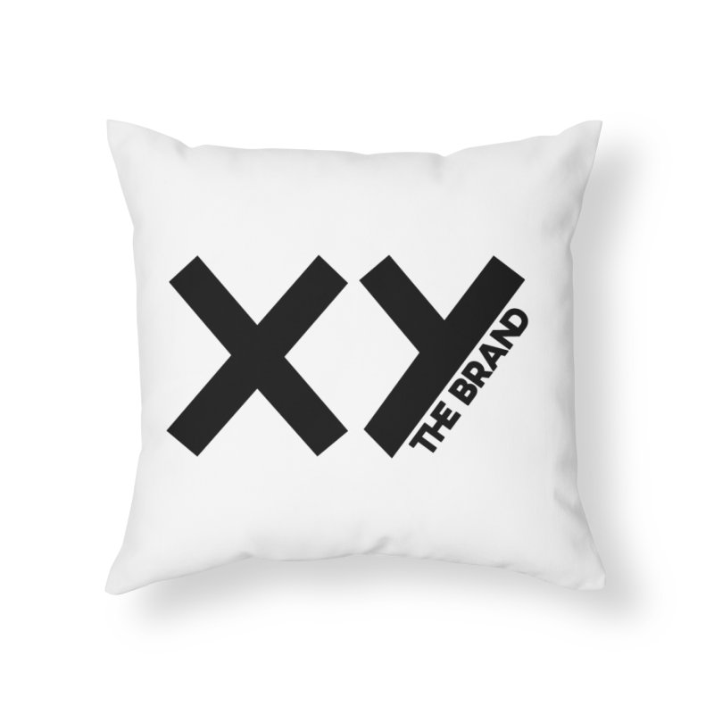 XY The Brand Home Throw Pillow by XY The Brand
