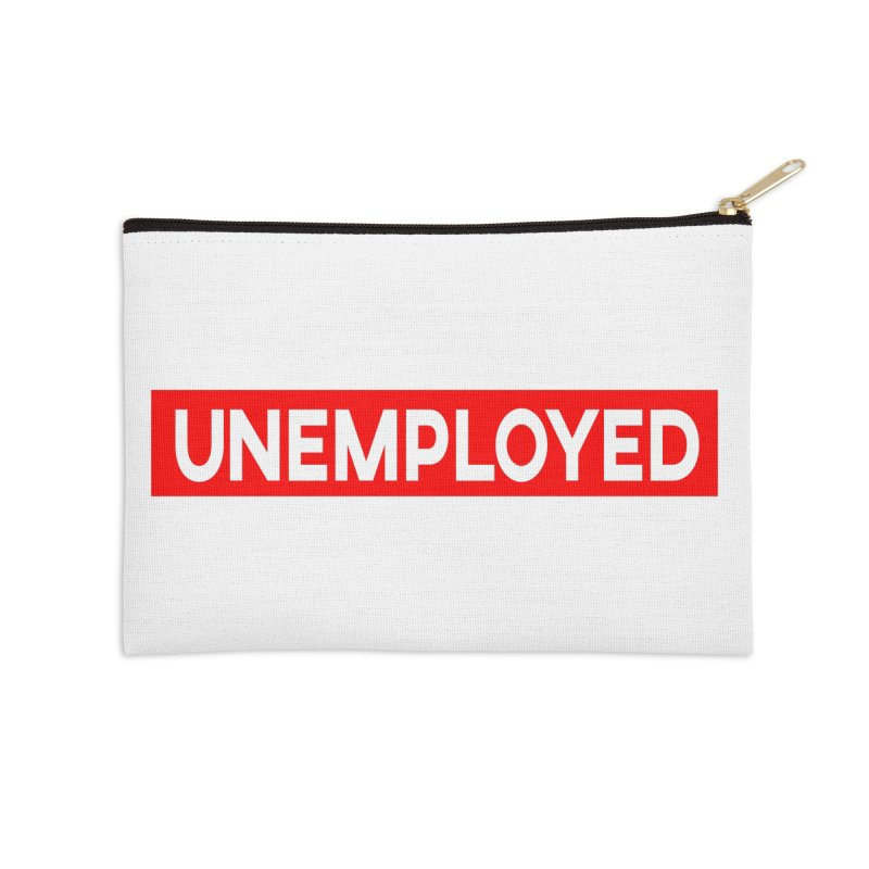Unemployed Accessories Zip Pouch by XY The Brand