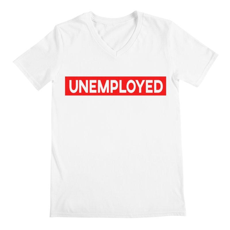 Unemployed Men's Regular V-Neck by XY The Brand