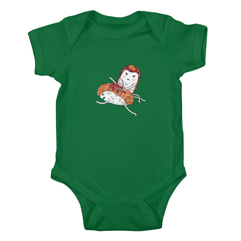 HURT A LITTLE Kids Baby Bodysuit by YaaH