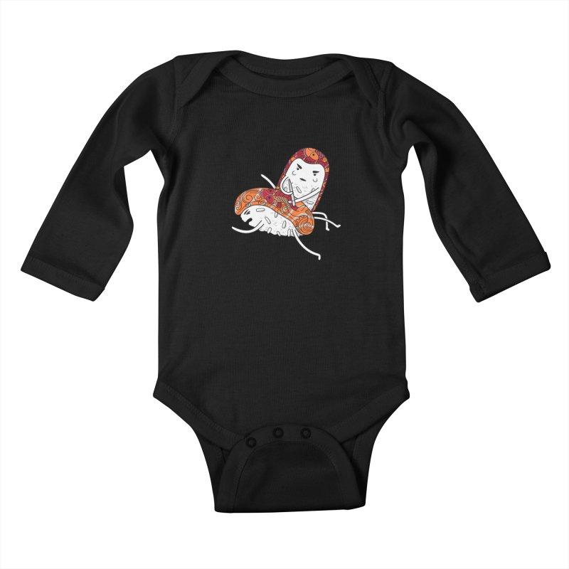HURT A LITTLE Kids Baby Longsleeve Bodysuit by YaaH