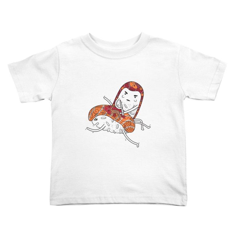 HURT A LITTLE Kids Toddler T-Shirt by YaaH