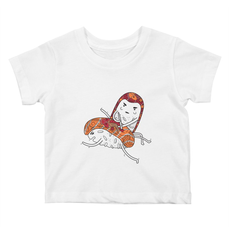 HURT A LITTLE Kids Baby T-Shirt by YaaH