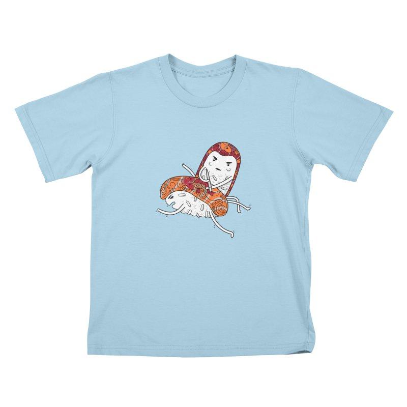 HURT A LITTLE Kids T-shirt by YaaH