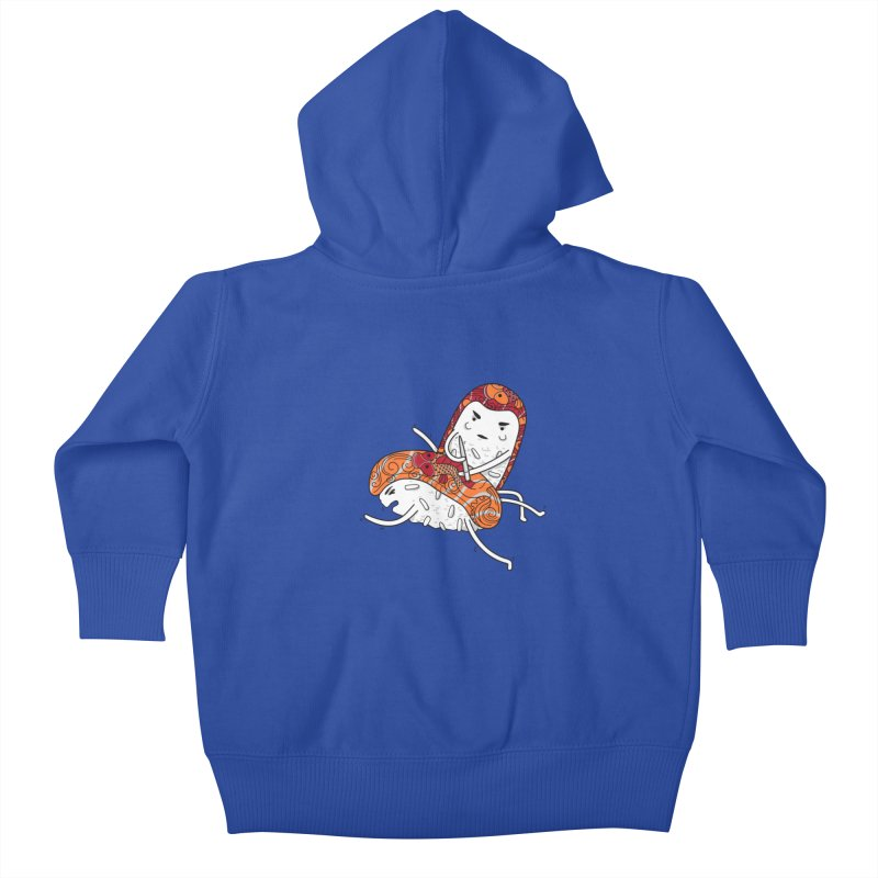 HURT A LITTLE Kids Baby Zip-Up Hoody by YaaH