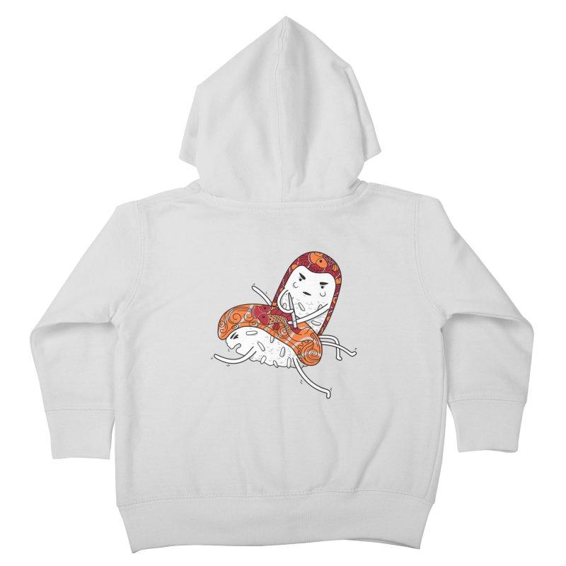HURT A LITTLE Kids Toddler Zip-Up Hoody by YaaH