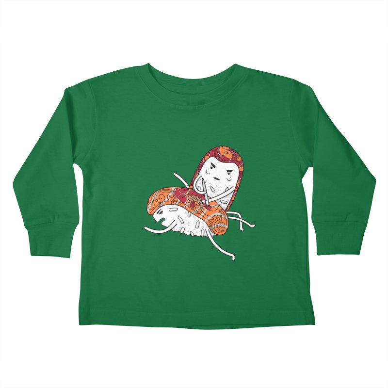 HURT A LITTLE Kids Toddler Longsleeve T-Shirt by YaaH