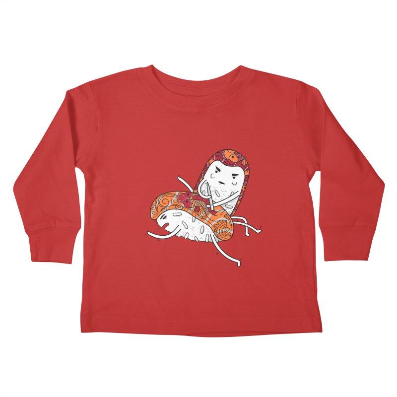 HURT A LITTLE Kids Toddler Longsleeve T-Shirt by YaaH