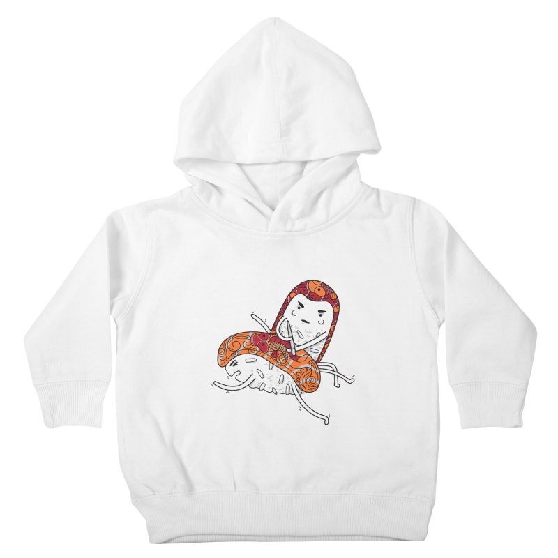 HURT A LITTLE Kids Toddler Pullover Hoody by YaaH