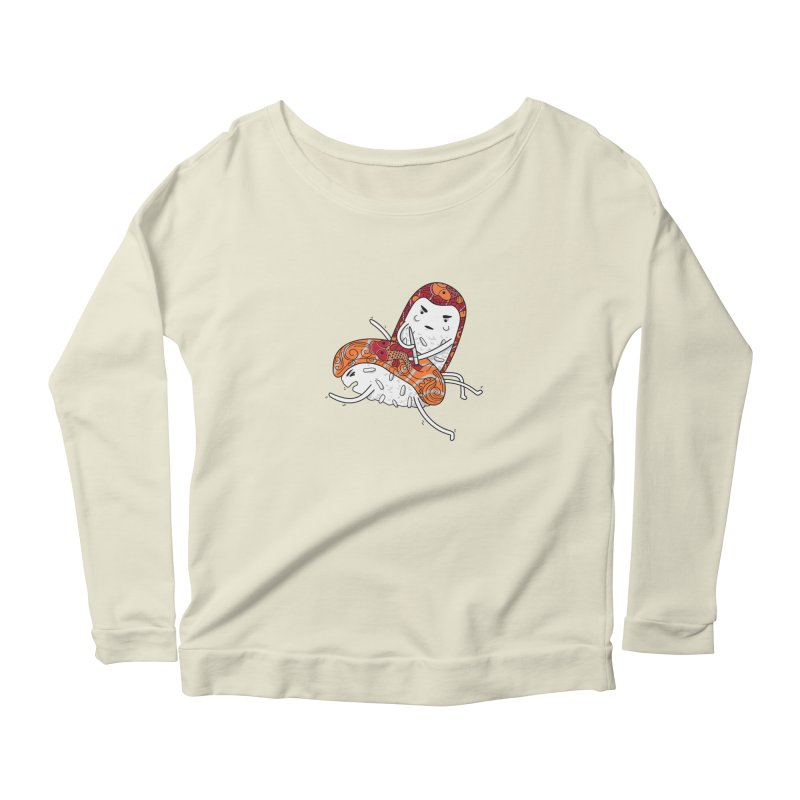 HURT A LITTLE Women's Scoop Neck Longsleeve T-Shirt by YaaH