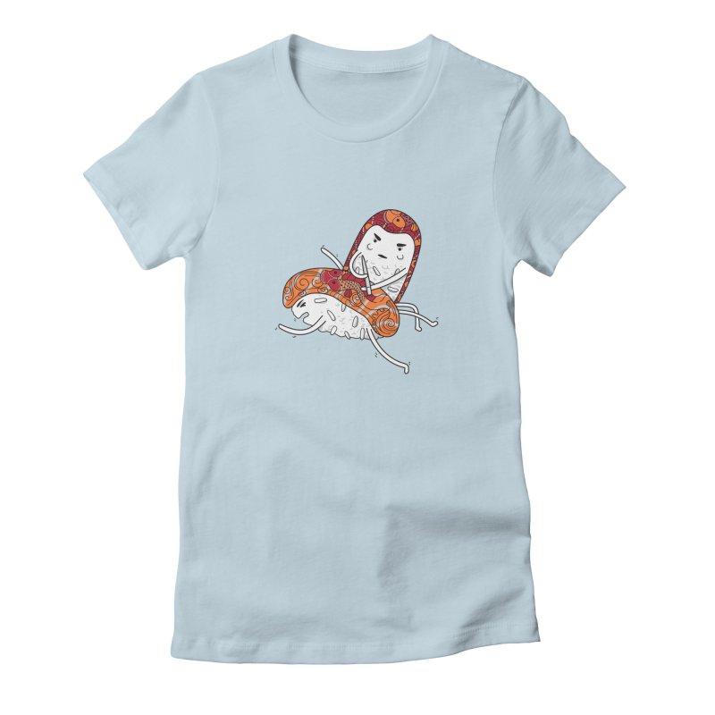 HURT A LITTLE Women's Fitted T-Shirt by YaaH