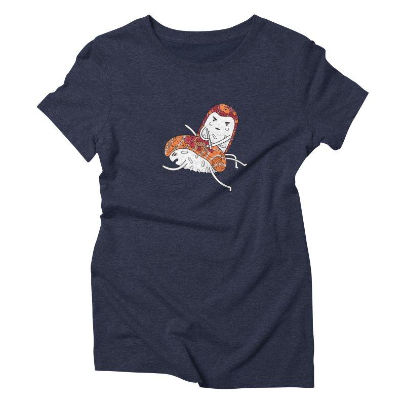 HURT A LITTLE Women's Triblend T-Shirt by YaaH