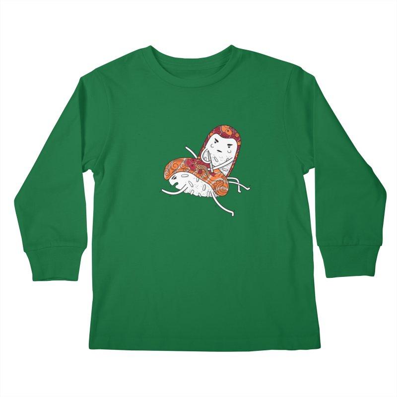 HURT A LITTLE Kids Longsleeve T-Shirt by YaaH