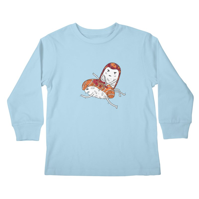 HURT A LITTLE Kids Longsleeve T-Shirt by YaaH