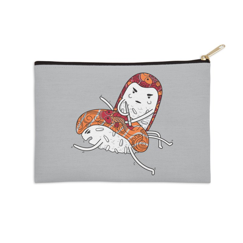 HURT A LITTLE Accessories Zip Pouch by YaaH