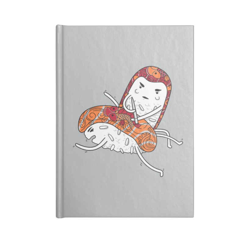 HURT A LITTLE Accessories Lined Journal Notebook by YaaH