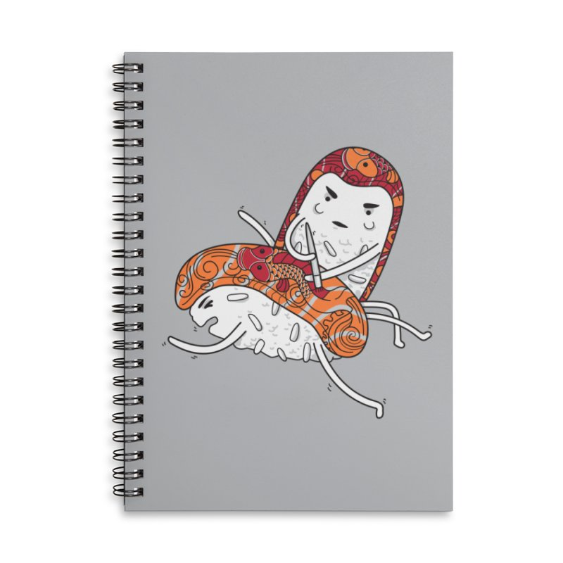 HURT A LITTLE Accessories Lined Spiral Notebook by YaaH