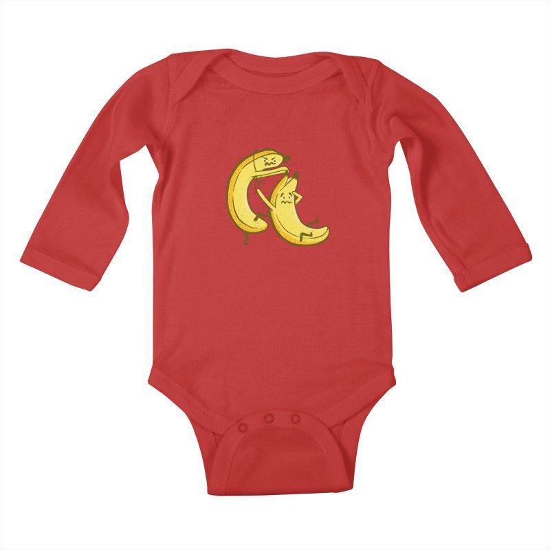 NOT PEELING WELL Kids Baby Longsleeve Bodysuit by YaaH