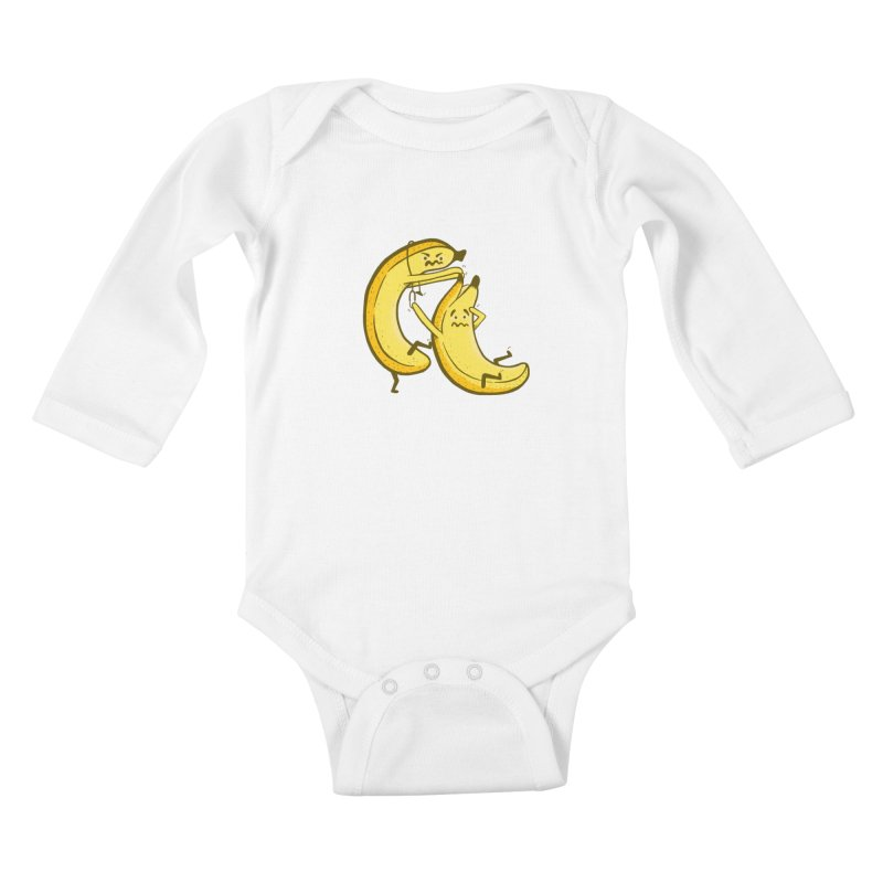 NOT PEELING WELL Kids Baby Longsleeve Bodysuit by YaaH
