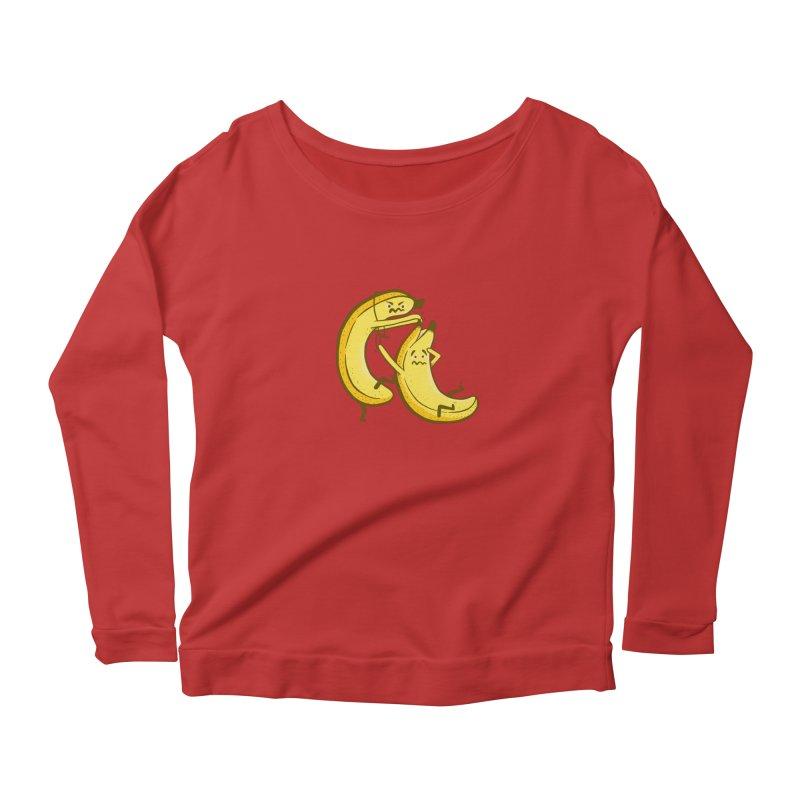 NOT PEELING WELL Women's Scoop Neck Longsleeve T-Shirt by YaaH