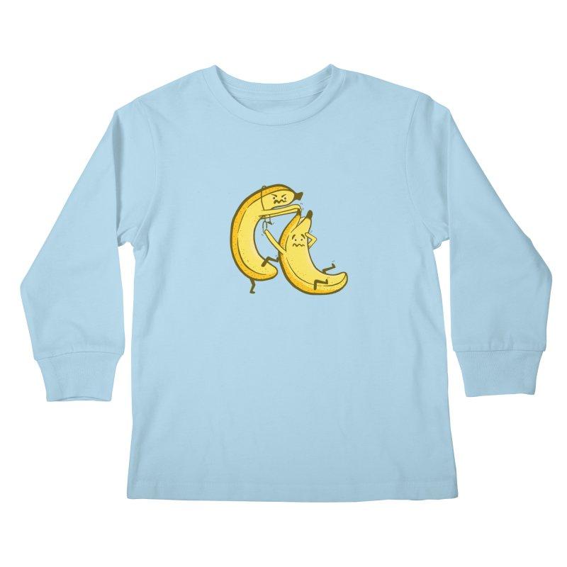 NOT PEELING WELL Kids Longsleeve T-Shirt by YaaH