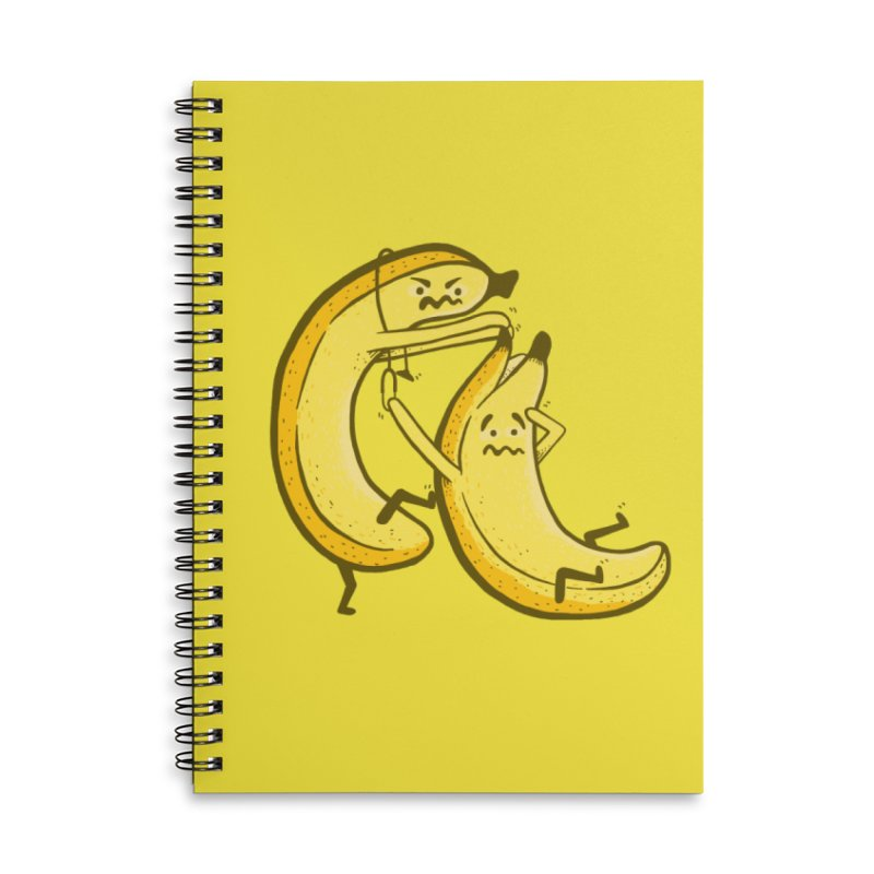 NOT PEELING WELL Accessories Lined Spiral Notebook by YaaH