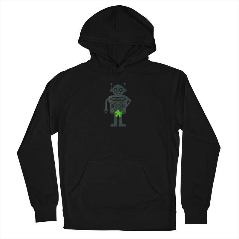 WEARING GREEN Men's Pullover Hoody by YaaH