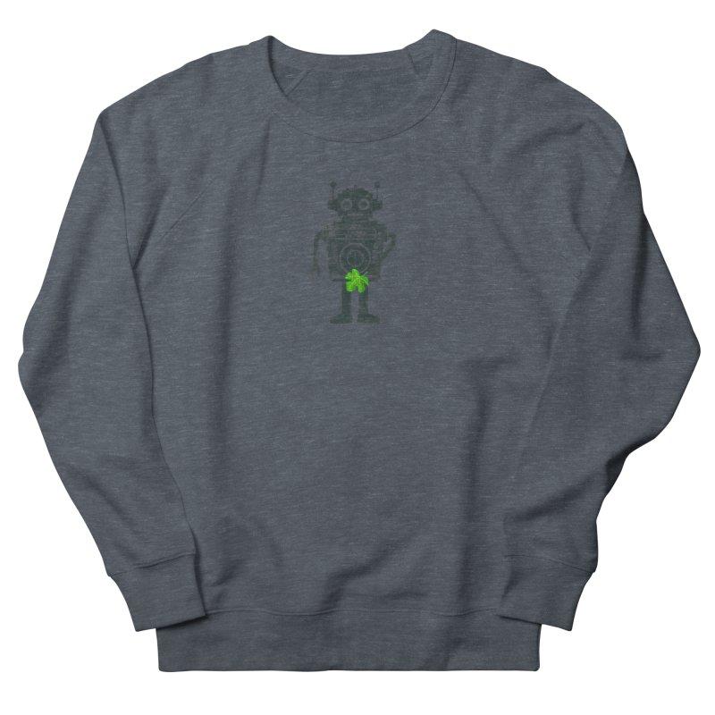 WEARING GREEN Women's French Terry Sweatshirt by YaaH