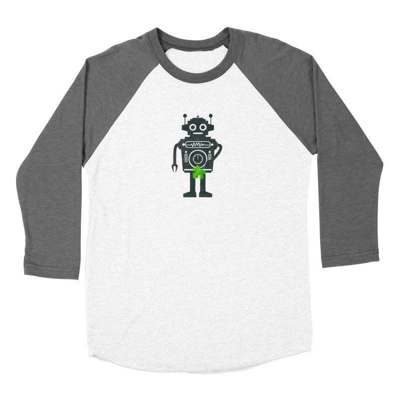 WEARING GREEN Women's Baseball Triblend Longsleeve T-Shirt by YaaH