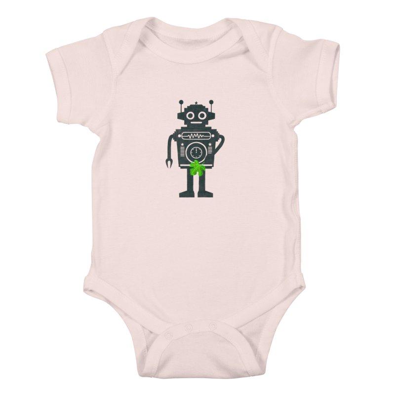 WEARING GREEN Kids Baby Bodysuit by YaaH