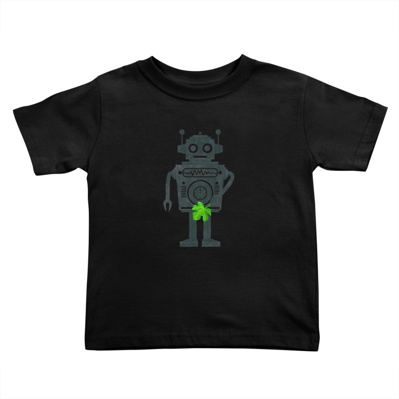 WEARING GREEN Kids Toddler T-Shirt by YaaH