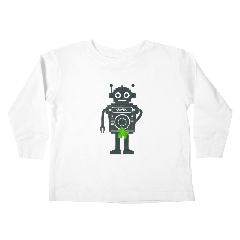 WEARING GREEN Kids Toddler Longsleeve T-Shirt by YaaH