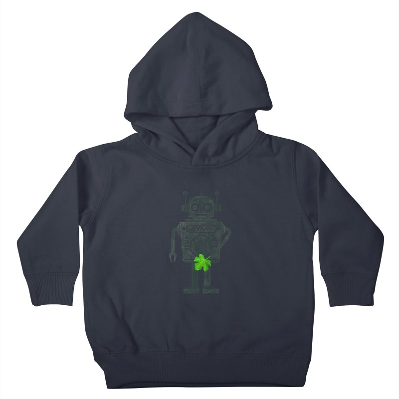 WEARING GREEN Kids Toddler Pullover Hoody by YaaH
