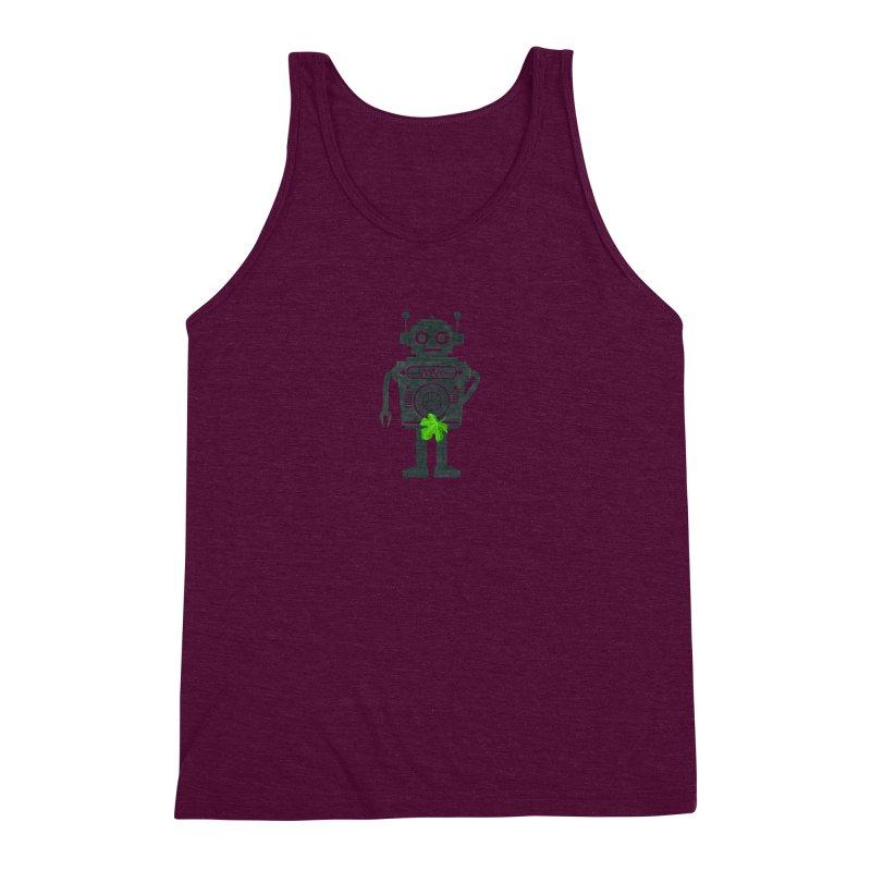 WEARING GREEN Men's Triblend Tank by YaaH
