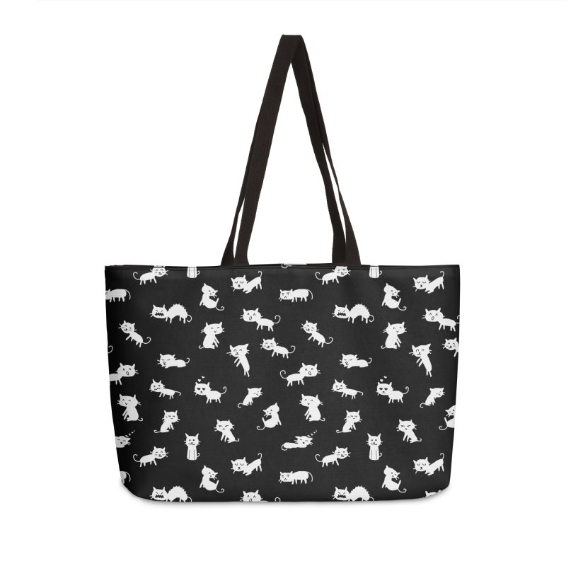 Cat Emotions Accessories Weekender Bag Bag by YaaH