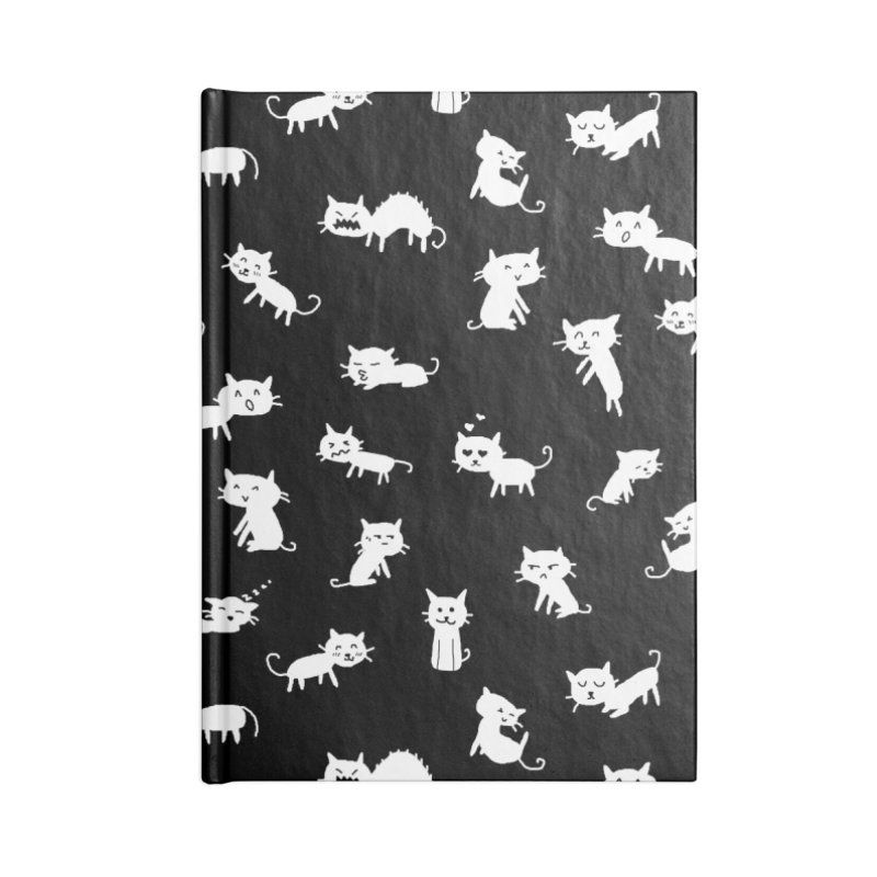 Cat Emotions Accessories Notebook by YaaH