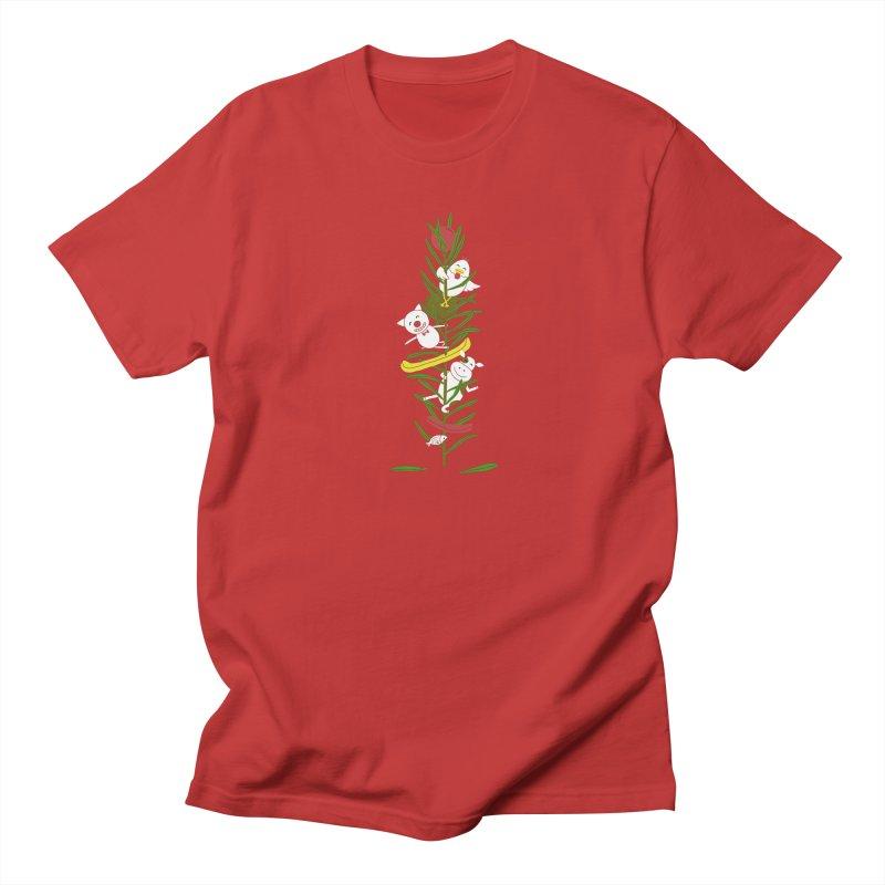 BBQ Men's Regular T-Shirt by YaaH