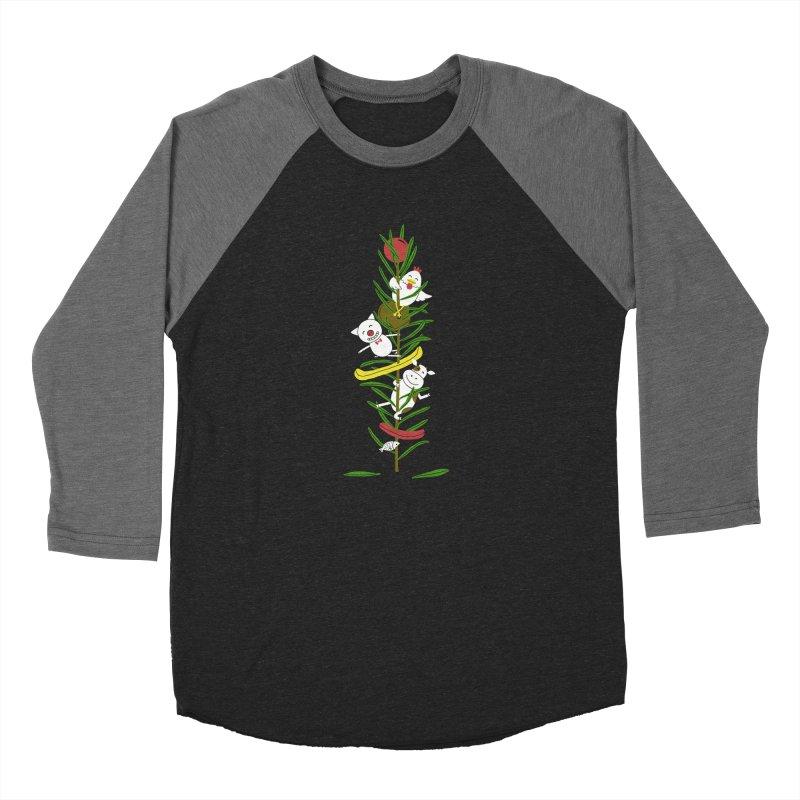 BBQ Men's Baseball Triblend T-Shirt by YaaH
