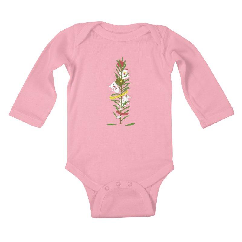 BBQ Kids Baby Longsleeve Bodysuit by YaaH