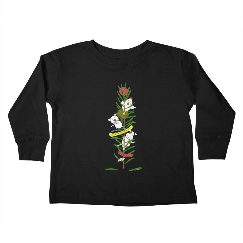 BBQ Kids Toddler Longsleeve T-Shirt by YaaH