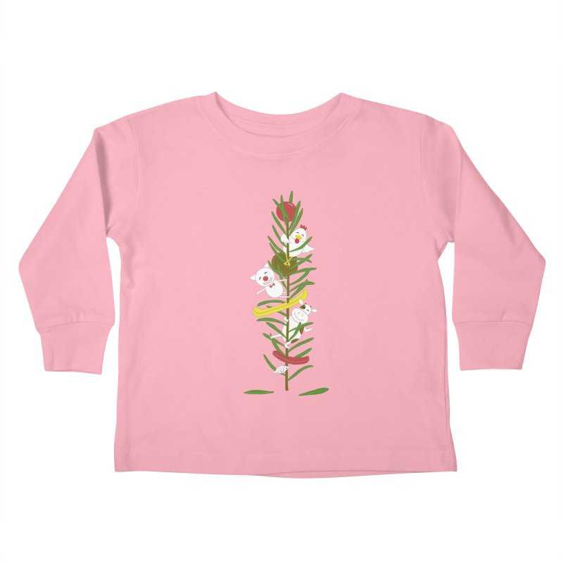 BBQ Kids Toddler Longsleeve T-Shirt by YaaH