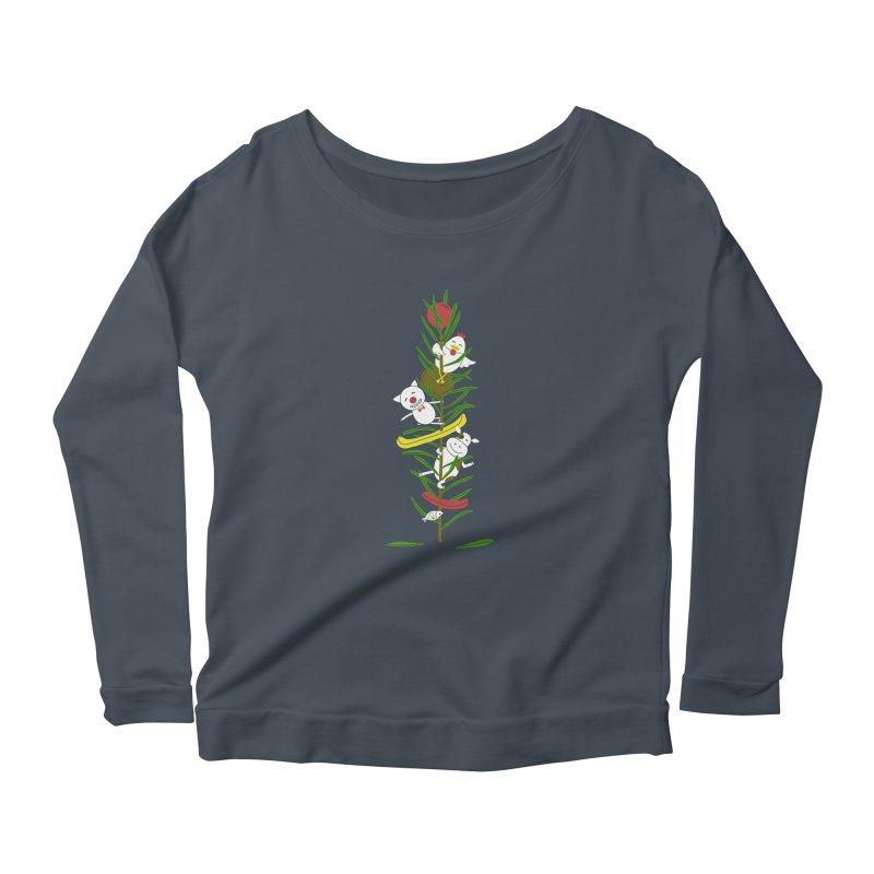 BBQ Women's Scoop Neck Longsleeve T-Shirt by YaaH