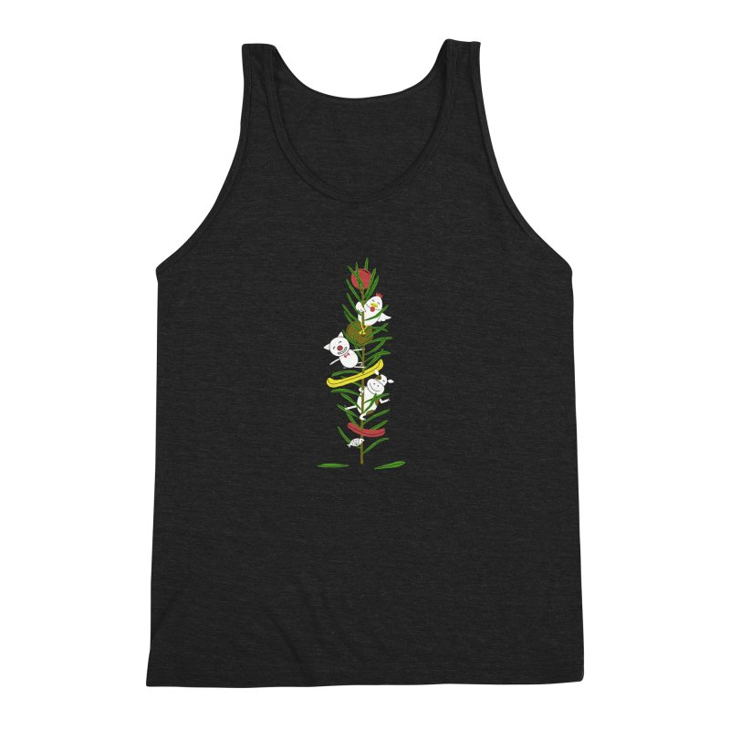 BBQ Men's Triblend Tank by YaaH