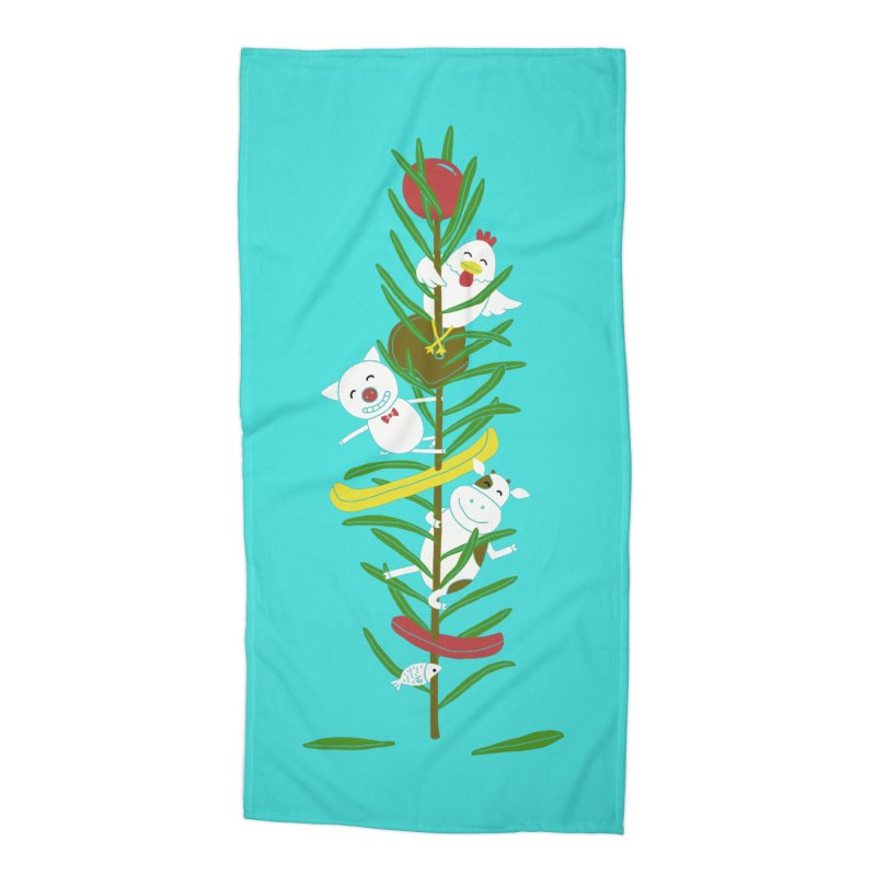 BBQ Accessories Beach Towel by YaaH