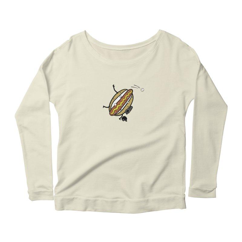 OOPS 1 Women's Scoop Neck Longsleeve T-Shirt by YaaH