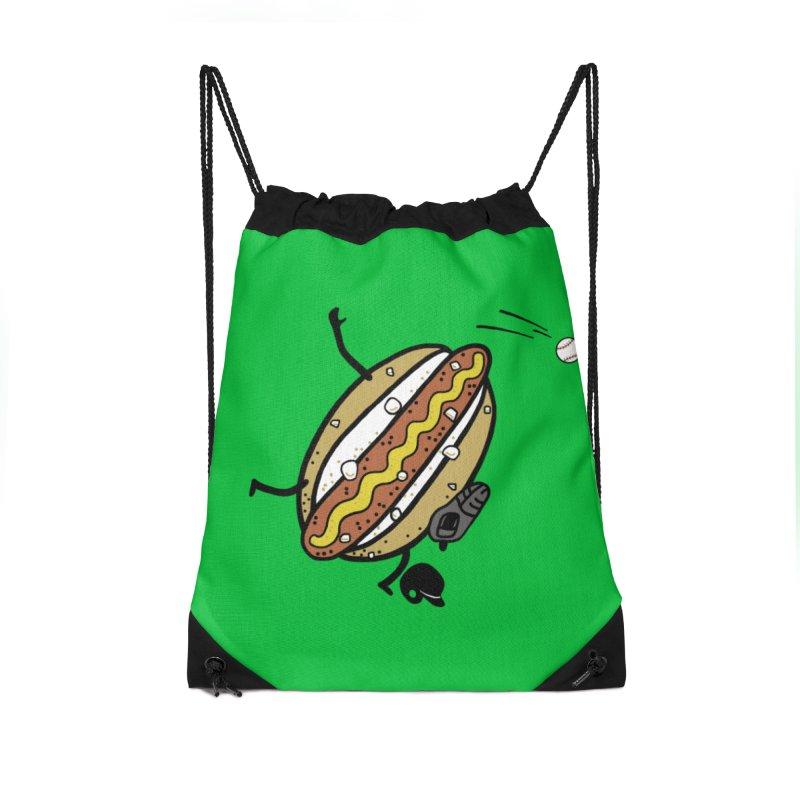 OOPS 1 Accessories Drawstring Bag Bag by YaaH
