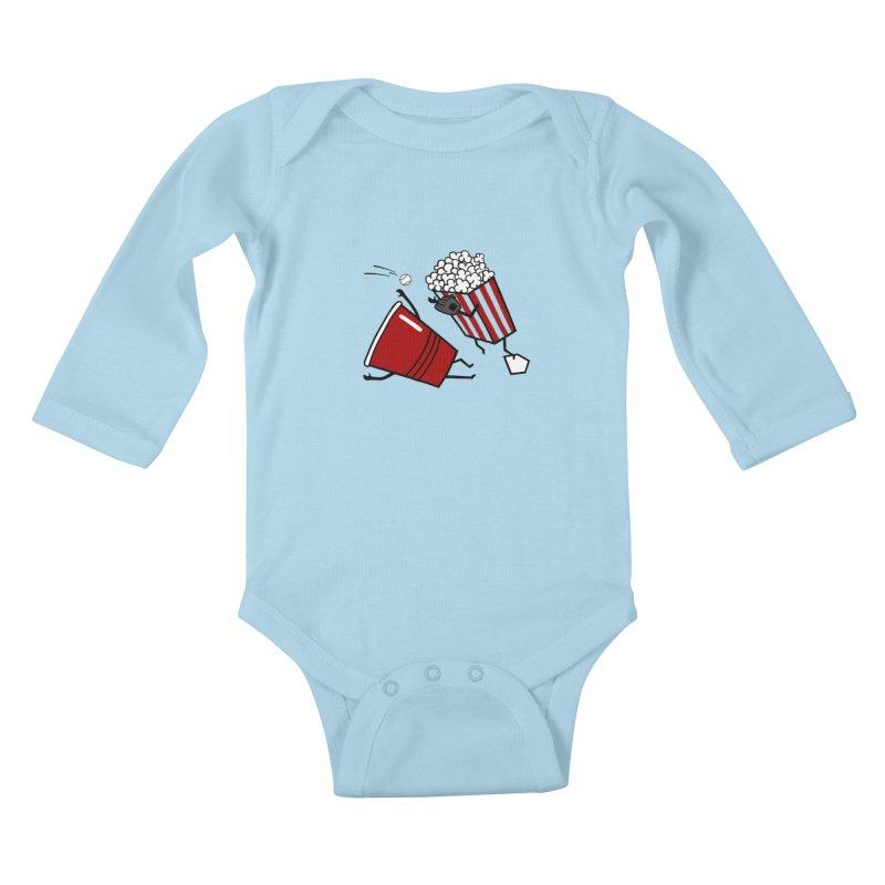 OOPS 3 Kids Baby Longsleeve Bodysuit by YaaH