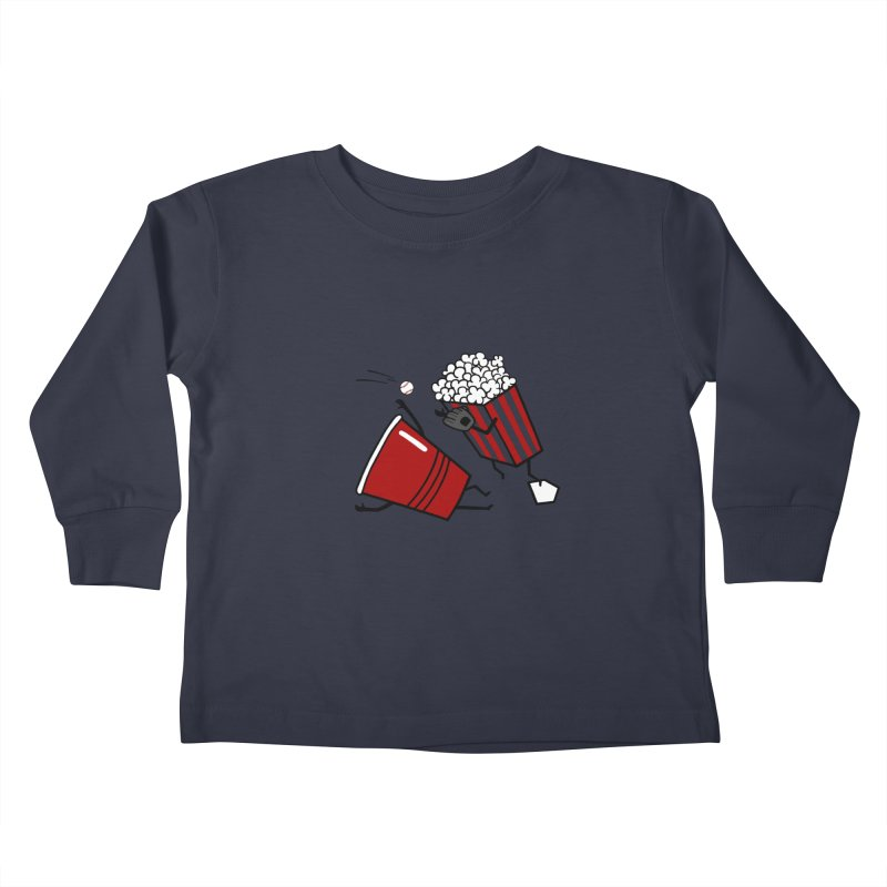 OOPS 3 Kids Toddler Longsleeve T-Shirt by YaaH